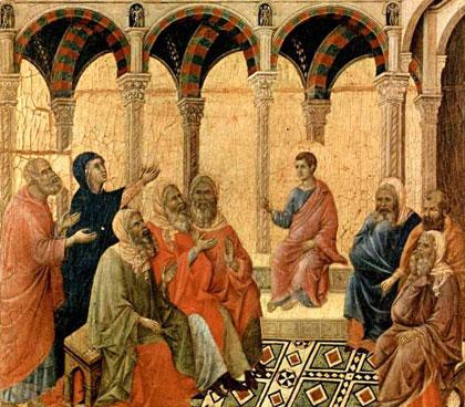 Duccio di Buoninsegna (vers 1310) - Museo dell'Opera del Duomo (Sienne)