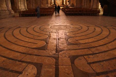 Cathédrale de Chartres - Le labyrinthe