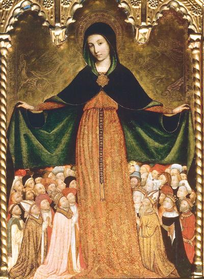 Marie Vierge mère - Louis Bréa - Chapelle de la Miséricorde - Nice