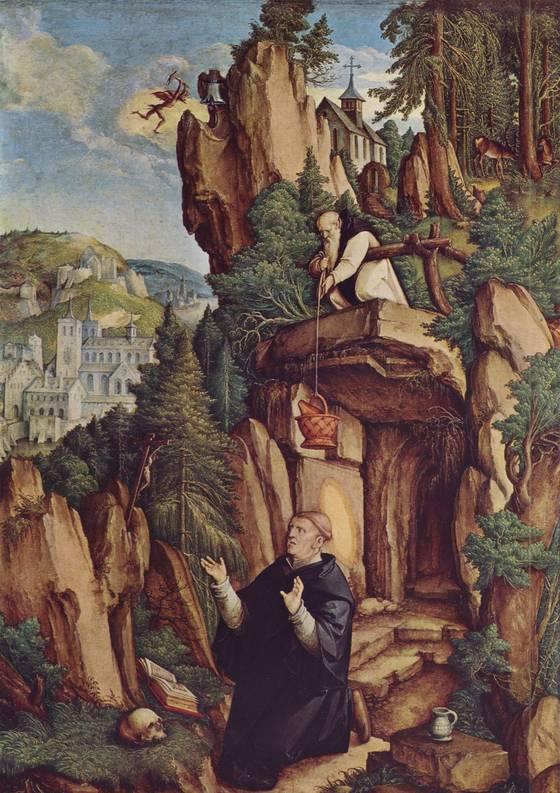 Saint-Benoit-dans-la-grotte-Meister-von-Meßkirch