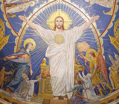 """""""La France est le centre de mon Coeur"""" (Parole de Jésus à sainte Maryam de Bethléem) SacreCoeurMontmartre-460"""